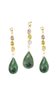 GEMSTONE 14 KT KOKTEYL SET