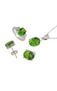 GEMSTONE PERIDOT SET