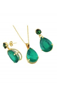 GEMSTONE YESİL KUVARS SET